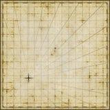 Шаблон пустой карты Стоковые Изображения RF
