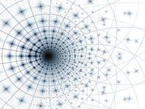 шаблон решетки голубого серого цвета Стоковая Фотография RF