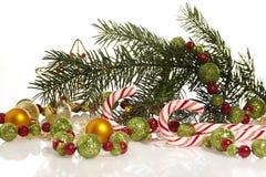 Шаблон рождественской открытки стоковые фото