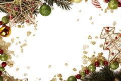 Шаблон рождественской открытки стоковое фото rf