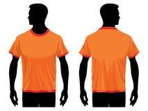 шаблон рубашки t Стоковое фото RF