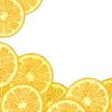 Шаблон с оранжевыми клин бесплатная иллюстрация