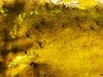 Шаблон текстуры предпосылки золота абстрактный винтажный старый бумажный стоковые изображения