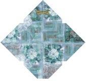 Шаблон флористического габарита Стоковое фото RF