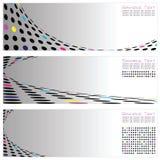 шаблон 3 абстрактного высокого качества backg установленный Стоковая Фотография