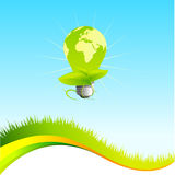 шаблон eco зеленый Иллюстрация штока