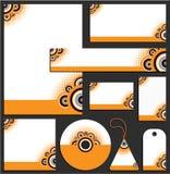 шаблон letterhead конструкции Стоковое фото RF