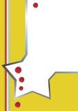 шаблон letterhead дела Стоковое фото RF
