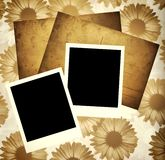 шаблон scrapbook Стоковое фото RF