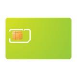 шаблон sim несущей карточки Стоковая Фотография RF