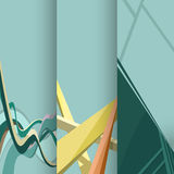 Шаблоны дизайна дела Стоковое Изображение