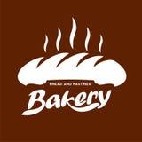 Шаблоны логотипа хлебопекарни Стоковое фото RF
