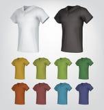 Шаблоны рубашки поло бесплатная иллюстрация