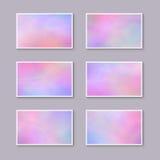 Шаблоны для карточек подарка/приглашений/открыток Eeffect th Стоковые Изображения RF