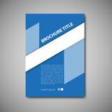 шаблон брошюры Стоковая Фотография