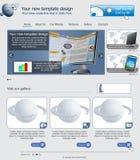 Шаблон 25 вебсайта Стоковые Фото