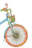 Шаблон велосипеда Стоковые Изображения