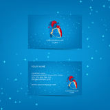 Шаблон визитной карточки для сердечнососудистой клиники Стоковое Изображение RF