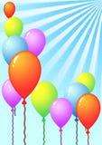 Шаблон воздушного шара Стоковое Фото