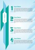 Шаблон графика информации Стоковое Фото