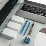 Шаблон дела модель-макета Высокое разрешение Стоковое фото RF