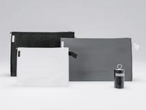 Шаблон дела модель-макета установленный на белую предпосылку Стоковое Изображение RF