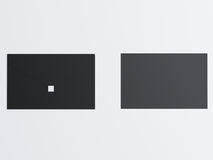 Шаблон дела модель-макета установленный на белую предпосылку Стоковые Изображения RF