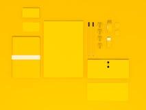 Шаблон дела модель-макета Стоковые Изображения RF