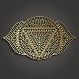 Шаблон дела студии йоги с пиктограммой chakra Стоковое Фото