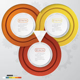 Шаблон знамен номера дизайна чистый иллюстрация штока