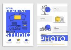 Шаблон дизайна брошюры - фотография иллюстрация штока