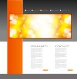 Шаблон дизайна вебсайта бесплатная иллюстрация