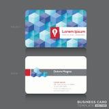 Шаблон дизайна визитных карточек бесплатная иллюстрация