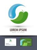 Шаблон дизайна логотипа вектора экологичности environment иллюстрация вектора