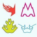 Шаблон дизайна логотипа Стоковые Фотографии RF