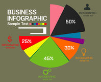 Шаблон дизайна Infographic с графической иллюстрацией комплекта элементов Файл вектора в слоях для легкий редактировать Иллюстрация штока