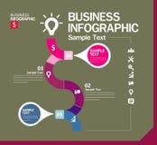 Шаблон дизайна Infographic с графической иллюстрацией комплекта элементов Файл вектора в слоях для легкий редактировать Иллюстрация вектора