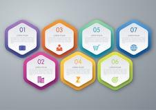 Шаблон дизайна Infographic Стоковые Фото