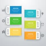 Шаблон дизайна Infographic Стоковая Фотография RF