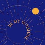 Шаблон карточки с планетой Стоковые Фото
