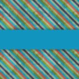 Шаблон карточки Стоковые Изображения RF
