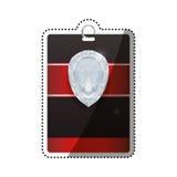 Шаблон карточки VIP Стоковая Фотография