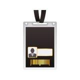Шаблон карточки VIP Стоковое Изображение