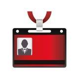 Шаблон карточки VIP Стоковое фото RF