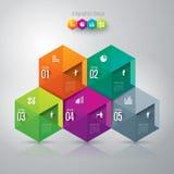 Шаблон конструкции Infographics бесплатная иллюстрация
