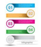 Шаблон конструкции Infographics Стоковая Фотография