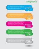 Шаблон конструкции Infographics Стоковое Фото