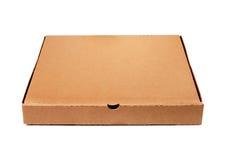 Шаблон коробки пиццы Брайна Стоковые Изображения