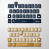 Шаблон клавиатуры Smartphone Стоковые Фото