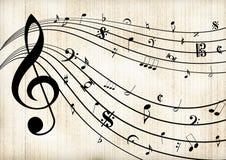 Шаблон музыки бесплатная иллюстрация